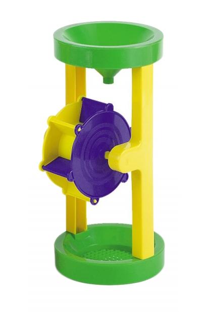 Ujuv mänguasi vesiveski