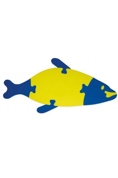 Ujuv kahevärviline kalapuzzle 7 tk